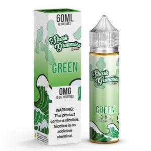 Shark Gummies E-Liquid - Green - 60ml / 3mg