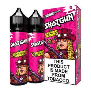 Shotgun by Sky Drip - Raspberry Tobacco - 2x60ml / 3mg