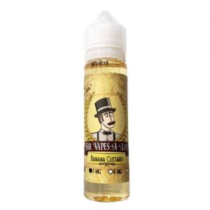 Sir Vapes-A-Lot eLiquid - Banana Custard - 60ml / 3mg