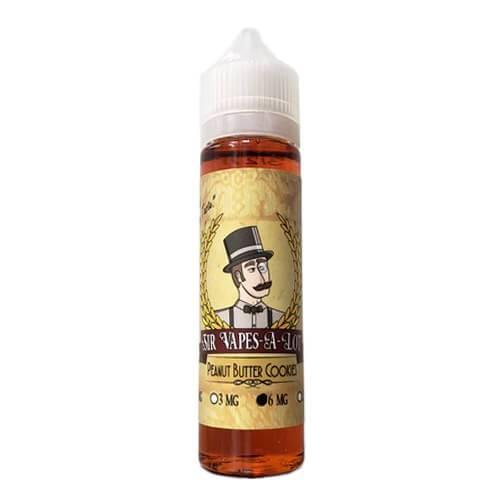 Sir Vapes-A-Lot eLiquid - Peanut Butter Cookies - 60ml / 6mg