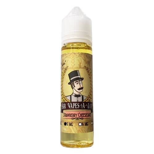 Sir Vapes-A-Lot eLiquid - Strawberry Cheesecake - 60ml / 12mg