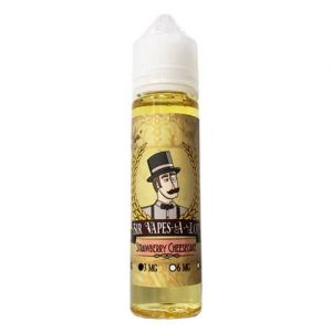 Sir Vapes-A-Lot eLiquid - Strawberry Cheesecake - 60ml / 0mg