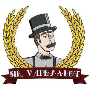 Sir Vapes-A-Lot eLiquid - Crystal Blue - 60ml / 0mg