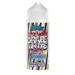 Slotter-Pops By Lost Art Liquids - The Grape White - 120ml - 120ml / 0mg