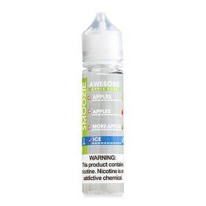Smoozie Premium E-Liquid - Awesome Apple Sour ICE - 60ml / 0mg