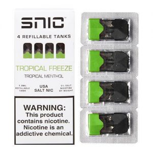 SNIC by White Lightning PODS - Tropical Freeze (4 Pack) - 1.8ml / 50mg