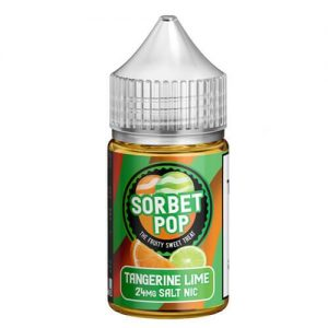 Sorbet Pop eJuice SALTS - Tangerine Lime - 30ml / 24mg