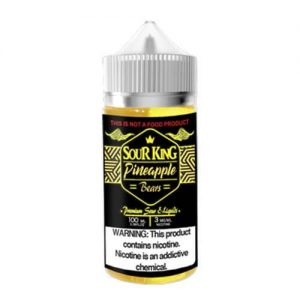 Sour King eLiquids - Pineapple Bears - 100ml / 0mg
