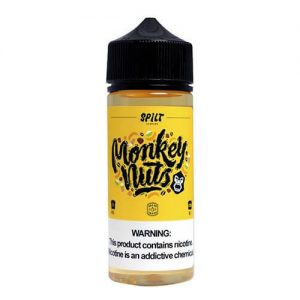 Split by Valor Vapor - Monkey Nuts - 120ml / 0mg