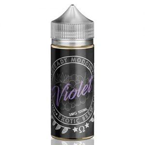 Steady Moddin Exotic Brew - Violet - 100ml / 0mg