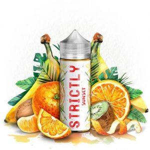 Strictly Liquids - Sunset - 120ml / 0mg