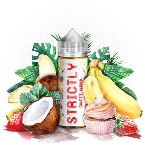 Strictly Liquids - Sweet Nana - 120ml / 0mg