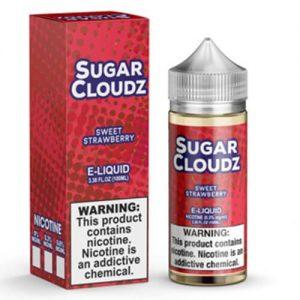 Sugar Cloudz eJuice - Sweet Strawberry - 100ml / 6mg