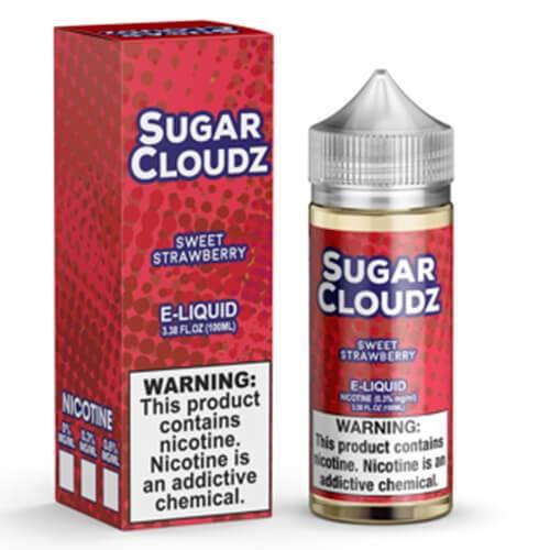 Sugar Cloudz eJuice - Sweet Strawberry - 100ml / 0mg