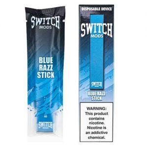 Switch Mods - Disposable Vape Device - Blue Razz - 1.3ml / 50mg