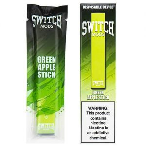 Switch Mods - Disposable Vape Device - Green Apple - 1.3ml / 50mg