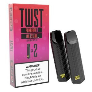 TWST - Disposable Vape Pen Twin Packs - Pomberry - 1ml / 50mg