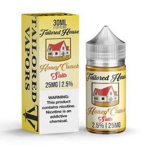 Tailored House eJuice SALTS - Honey Crunch - 30ml / 45mg