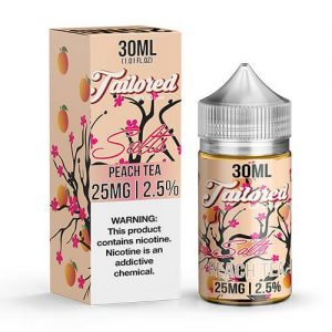 Tailored Ice Tea eJuice SALTS - Peach Tea - 30ml / 45mg