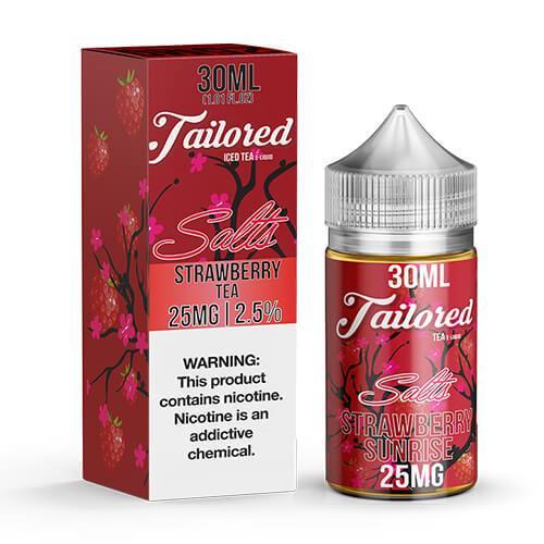 Tailored Ice Tea eJuice SALTS - Strawberry Tea - 30ml / 25mg