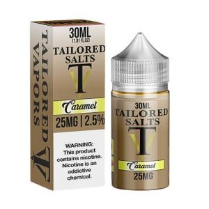Tailored Vapors Salts - Caramel - 30ml / 25mg