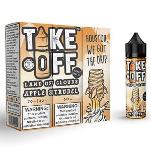 Take Off eLiquid - Apple Strudel - 60ml / 3mg