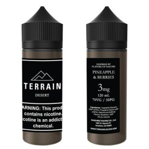 Terrain E-Liquids - Desert - 120ml / 0mg