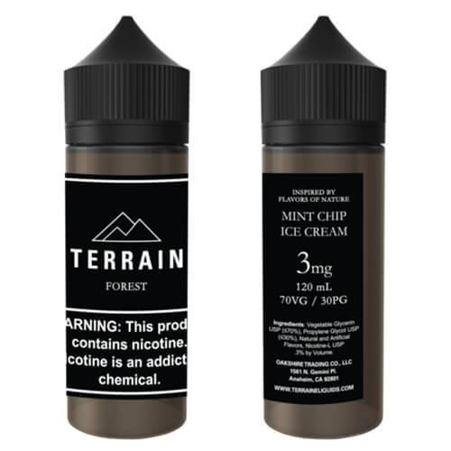 Terrain E-Liquids - Forest - 120ml / 0mg