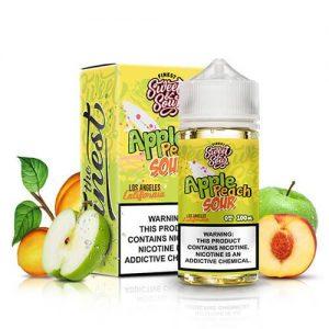Sweet & Sour Eliquids - Apple Peach Sour Rings - 100ml / 6mg