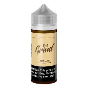 The Grind E-Liquids - No Cap (Cappuccino) - 100ml / 0mg