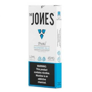 The Jones - Compatible Flavor Pods - Raspberry Blue (5 Pack) - 5 Pack - 1.2ml / 45mg