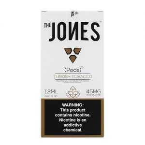 The Jones - Compatible Flavor Pods - Turkish Tobacco (5 Pack) - 5 Pack - 1.2ml / 45mg