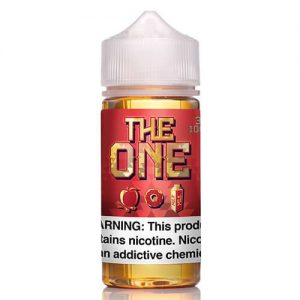 The One eLiquid - The One Apple - 100ml / 0mg