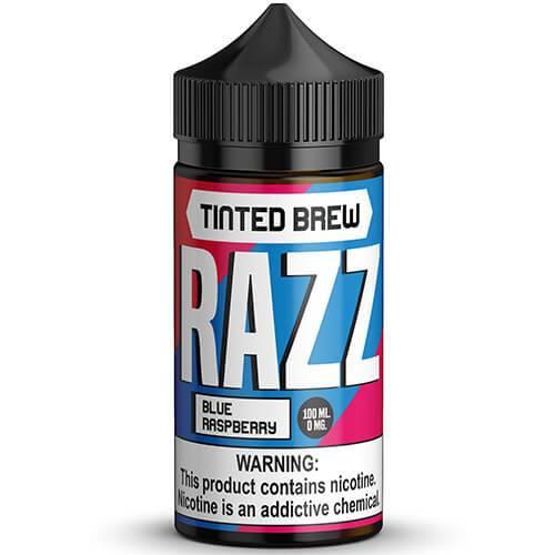 Tinted Brew Liquid Co. - RAZZ - 100ml / 0mg