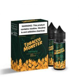 Tobacco Monster eJuice SALT - Menthol - 2x15ml / 20mg