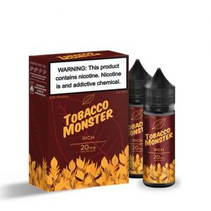 Tobacco Monster eJuice SALT - Rich - 2x15ml / 20mg