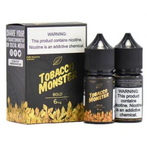 Tobacco Monster eJuice - Bold - 2x30ml / 0mg