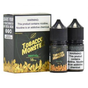 Tobacco Monster eJuice - Menthol - 2x30ml / 0mg