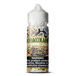 Tobaccoland Cigar Flavors by Vango Vapes - Pirate - 120ml / 0mg