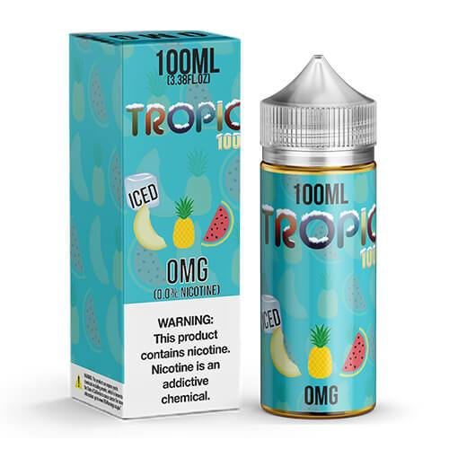 Tropic 100 by Tailored Vapors - Tropic 100 Ice - 100ml / 0mg