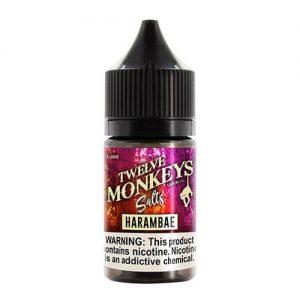 Twelve Monkeys Vapor - Harambae SALT - 30ml / 25mg