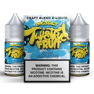 Twisted Fruit eJuice - Blue Raspberry Nic Salt - 2x30ml / 50mg