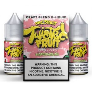 Twisted Fruit eJuice - Strawberry Watermelon Nic Salt - 2x30ml / 50mg