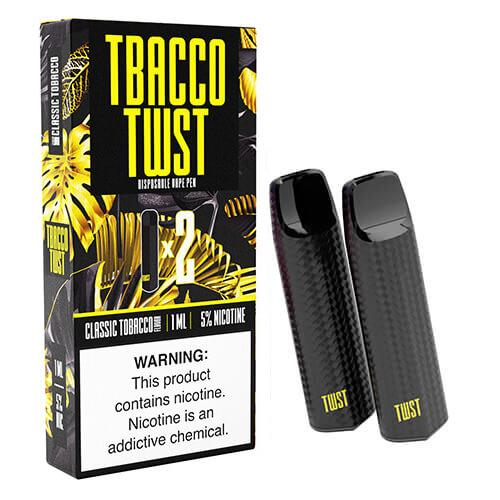 TWST - Disposable Vape Pen Twin Packs - Classic Tobacco - 1ml / 50mg