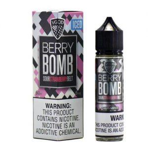 VGOD?½ Tricklyfe E-Liquid - ICED Berry Bomb - 60ml / 0mg