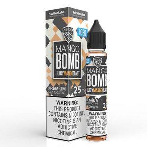 VGOD and SaltNic eJuice - ICED Mango Bomb - 30ml / 25mg