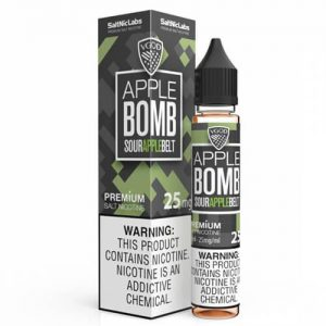 VGOD and SaltNic eJuice - Apple Bomb - 30ml / 25mg