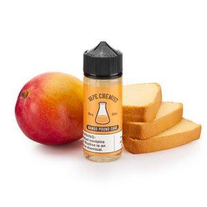 Vape Chemist - MPC Mango Pound Cake - 120ml / 3mg