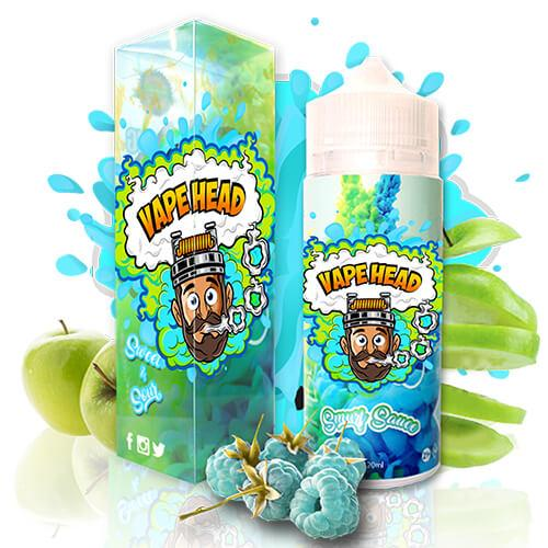 Vape Heads Sour E-Liquids - Smurf Sauce - 120ml / 0mg