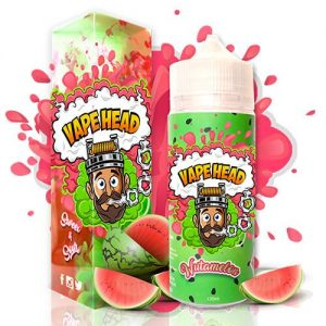 Vape Heads Sour E-Liquids - Wutamelon - 120ml / 0mg
